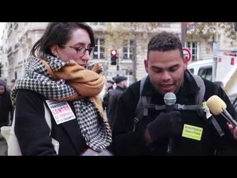 17ème manifestation contre le chômage et la précarité
