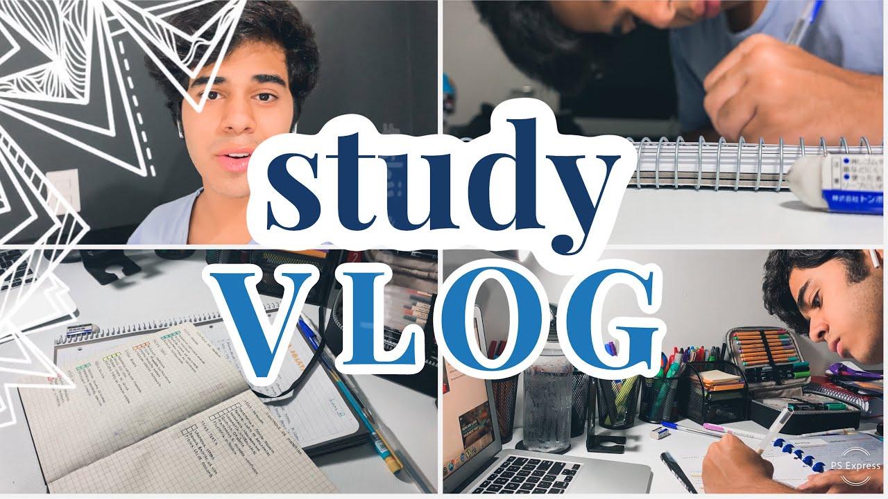 STUDY VLOG | MUITO ESTUDO NA MADRUGADA!