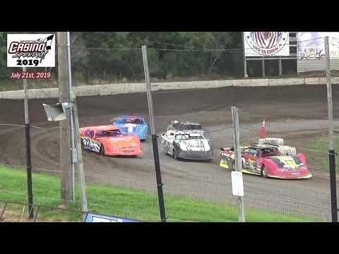 Casino Speedway WISSOTA Super Stock Heats (7/21/19)