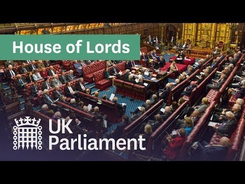 LIVE Lords debate day five of Queen's Speech: 22 October 2019