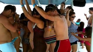 A catamaran trip to Isla Mujeres