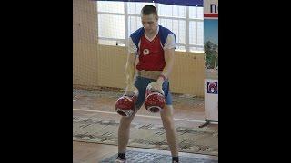 Алексей Рябков-Один из лучших гиревиков Мира / Ryabkov - one the best kettlebell lifters World