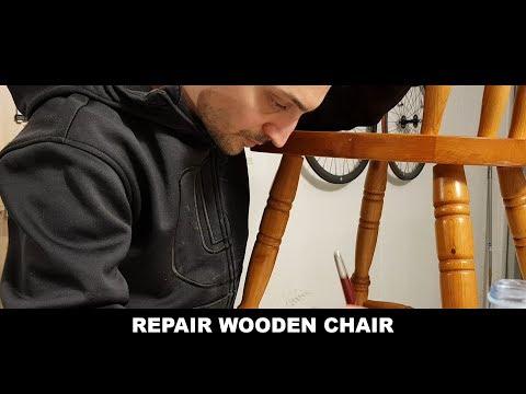 Repair Wooden Chair