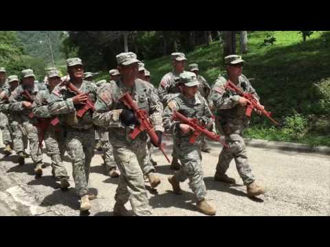 919th Military Police Company Costa Rica Mission