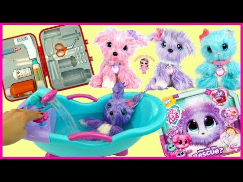 Sophie Rescues A Lilac Scruff A Luv And Goes Toy Hunting At Walmart | Kids Pretend Play Video