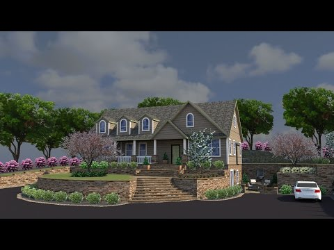 What is 3D Landscape Design - Whitehouse Landscaping