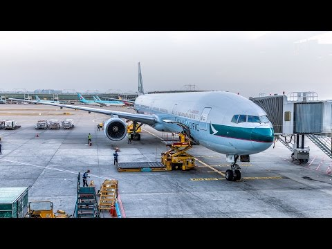TRIP REPORT - Cathay Pacific 777-300 Regional BUSINESS CLASS - Hong Kong to Seoul (CX418)