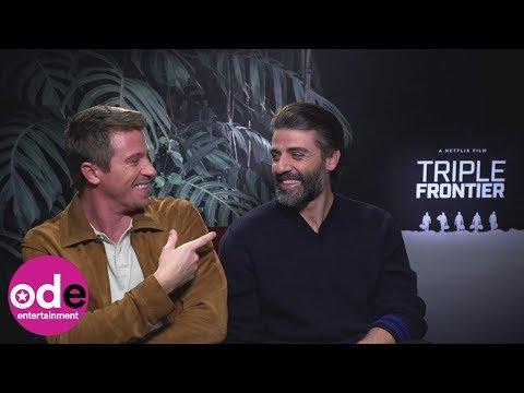 Garrett Hedlund & Oscar Isaac's hilarious bromance