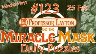 Professor Layton and the Miracle Mask: Daily Puzzles - Day 123 - 25/02/13 - A Dish Too Far 06