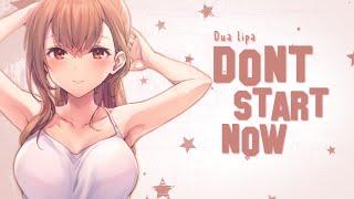 Nightcore - Don't Start Now - Dua Lipa [Lyrics]
