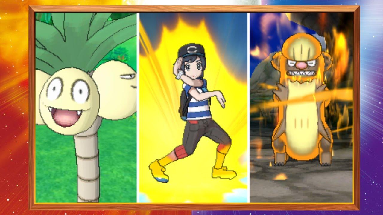 Alola Forms and Z-Moves Revealed for Pokémon Sun and Pokémon Moon ...