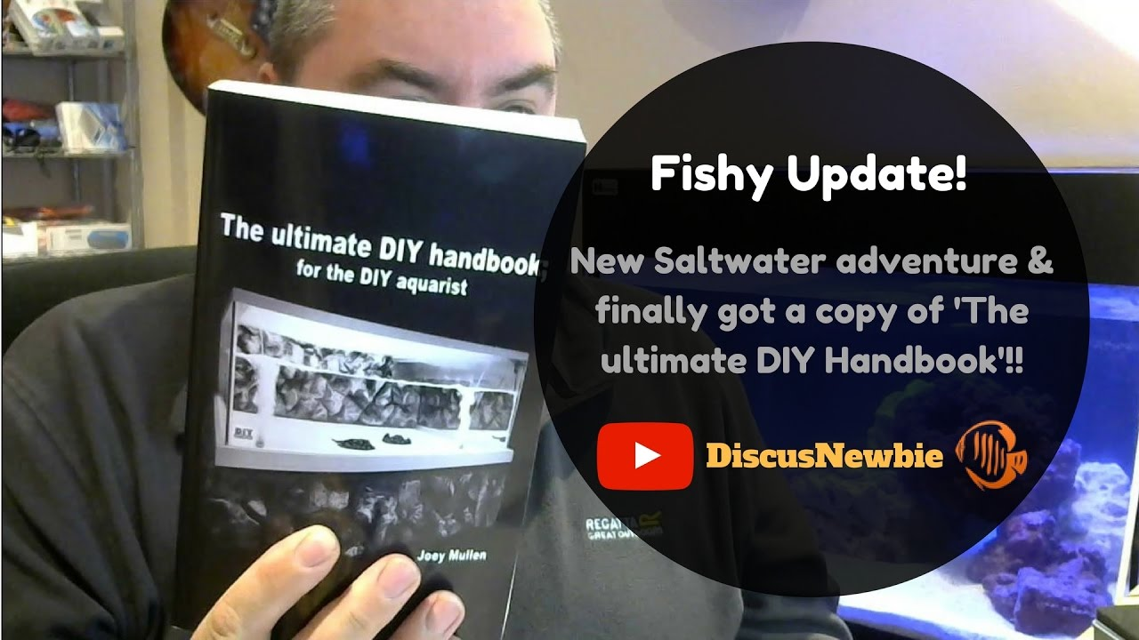 King Of Diy Book Arrives New Saltwater Adventure Youtube