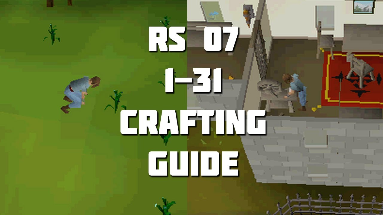 crafting guide runescape runescape 2007 1 31 crafting guide framed 1735