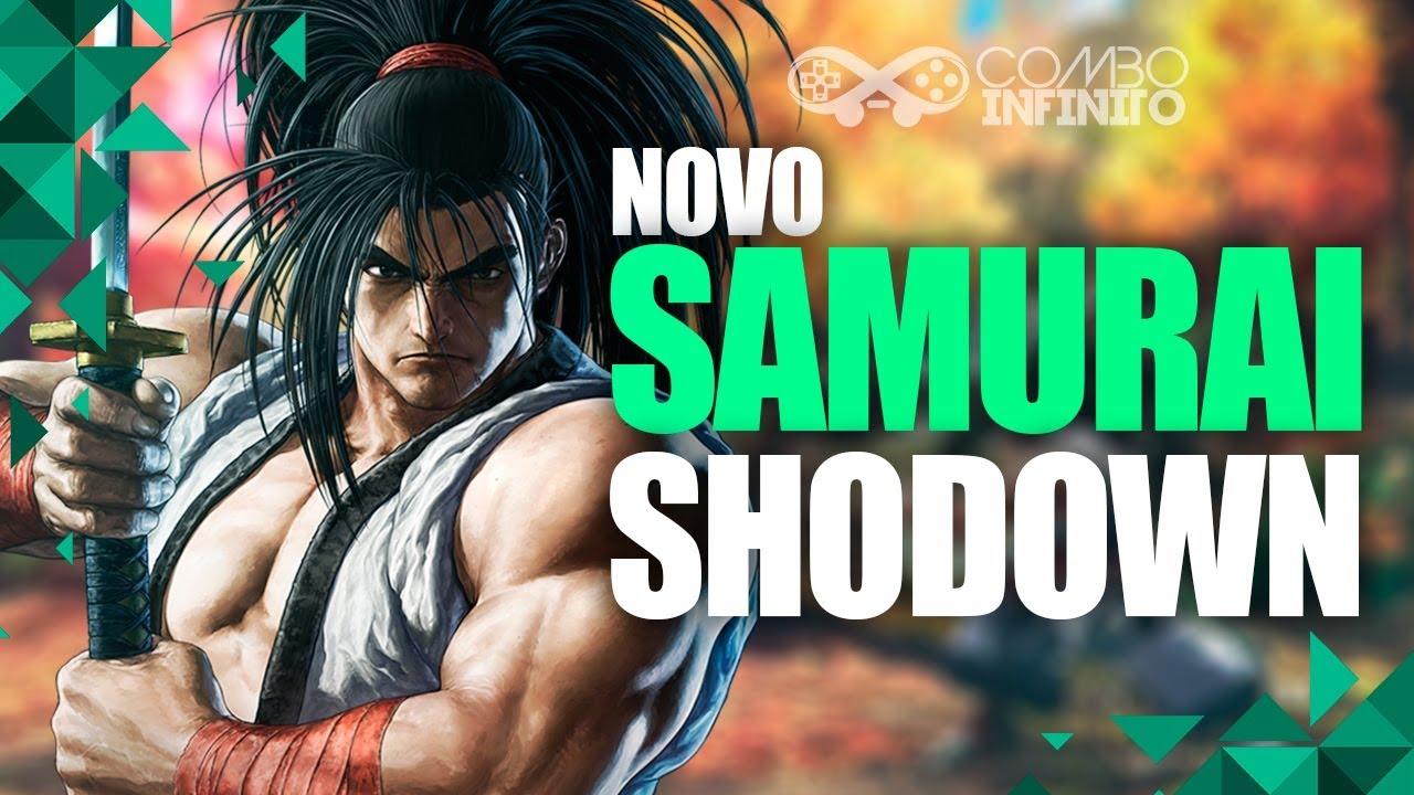COMBO INFINITO -  SAMURAI SHODOWN - EXPERIMENTANDO O NOVO GAME DE LUTA DA SNK!