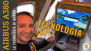 La TECNOLOGIA di AIRBUS A380 EMIRATES BUSINESS CLASS. PLAY da iPhone XR