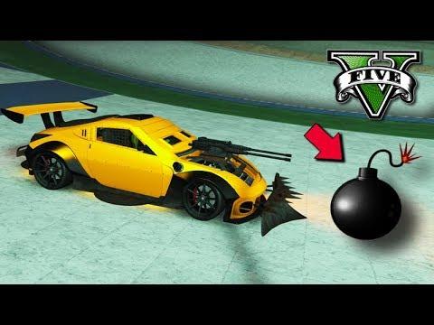GTA V Online: PASSE A BOMBA - NOVA CORRIDA ÉPICA *arena war*