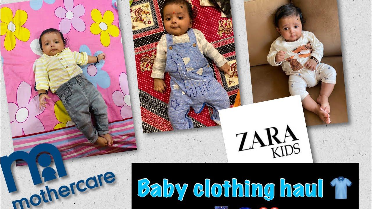 Baby clothing haul| Zara kids| Mothercare|