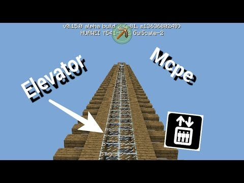 minecraft how to make an up and down platfirm elevator