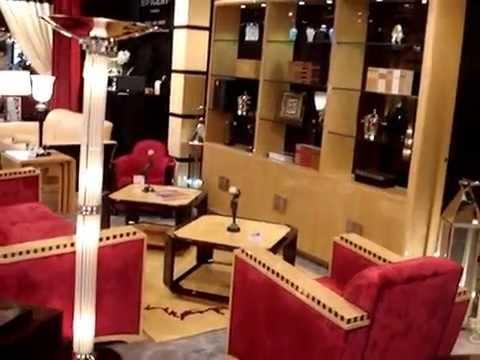 canap art d co et mobilier de luxe art d co paris cannes gen ve monaco meuble youtube. Black Bedroom Furniture Sets. Home Design Ideas