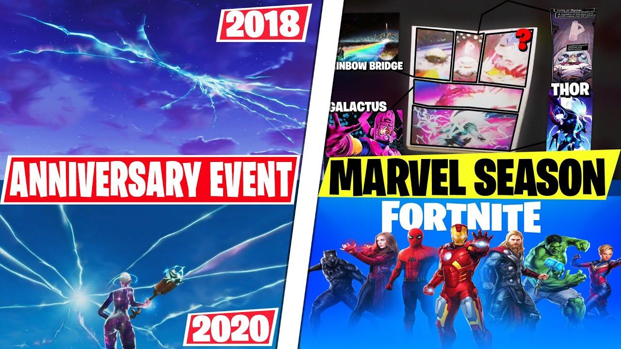 NEW Fortnite Season 4 ANNIVERSARY Season OR Marvel Themed? (Event Info, LEAKS, Theories & More!)