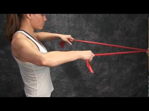 Shoulder Exercise External Rotation Retraction Doovi