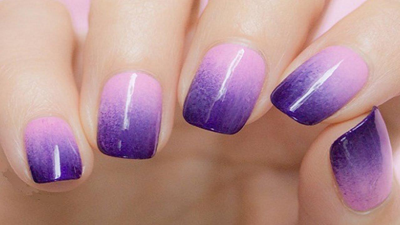 Как сделать омбре на ногтях фото пошагово фото 173