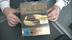 Herr der Ringe - Extended Version Blu ray unboxing