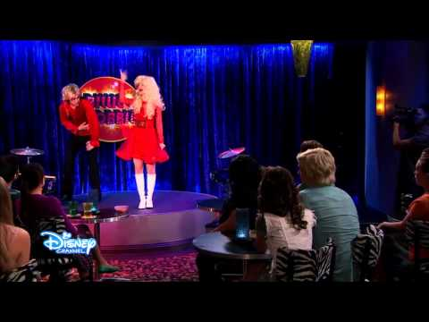 "Austin & Ally - Billie & Bobbie ""Fight Scene"""