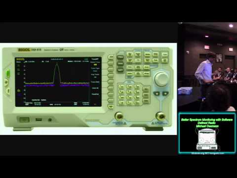 ATGP05 Better Spectrum Monitoring with Software Defined Radio Michael Ossmann