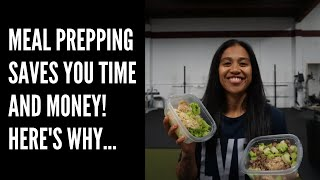 Meal Prepping Saves You Time and Money! Here's Why...