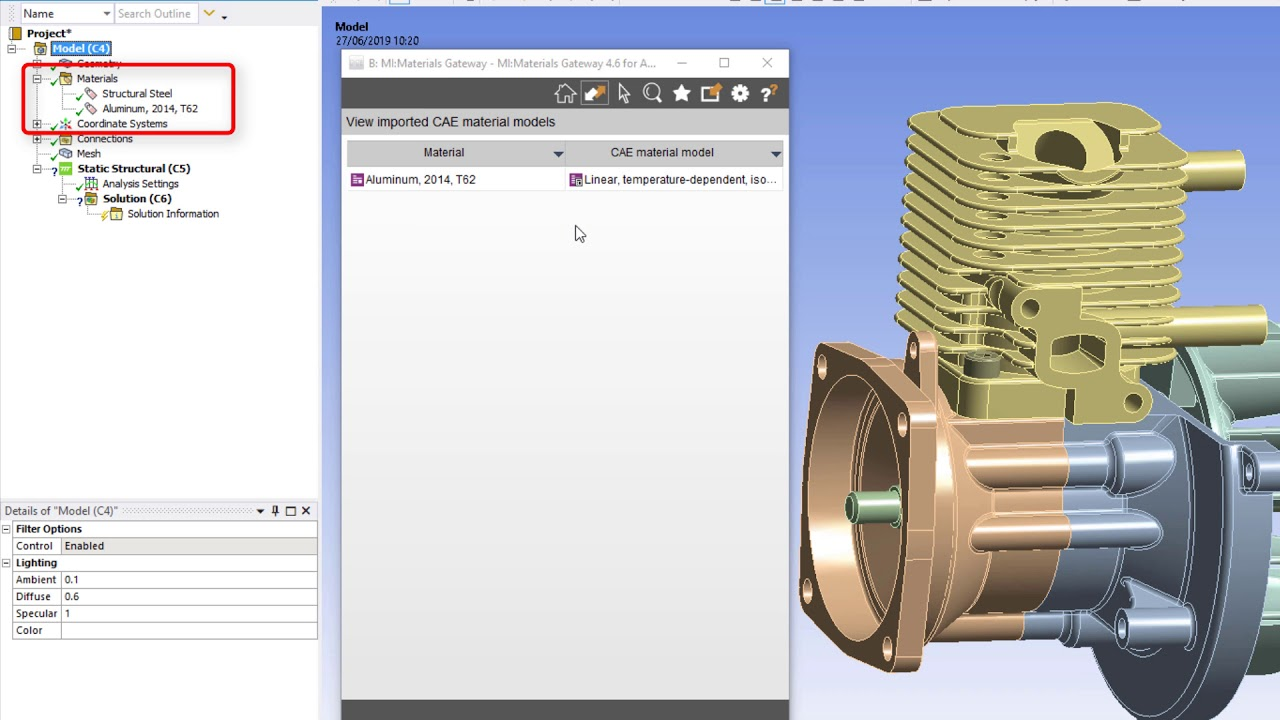 Material intelligence for ANSYS users | Granta Design