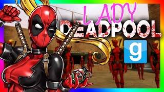 vuclip LADY DEADPOOL HIDE AND SEEK?!?! | Gmod Sandbox Minigame (Marvel Playermodel)