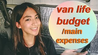 Living in a Van: MONTHLY BUDGET/ main expenses (2/2)   Hobo Ahle