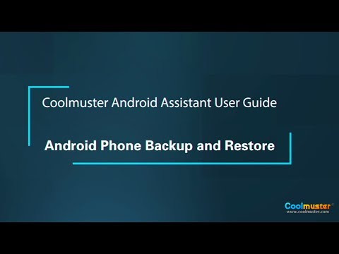 Coolmuster Android Assistant User Guide