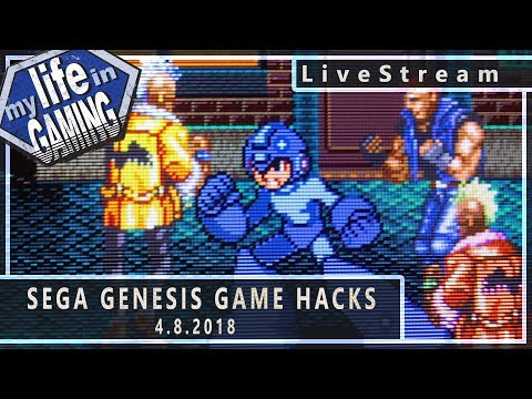 Sega Genesis Game Hacks (w/KWKBox) :: 4.8.2018 LiveStream / MY LIFE IN GAMING - Sega Genesis Game Hacks (w/KWKBox) :: 4.8.2018 LiveStream / MY LIFE IN GAMING