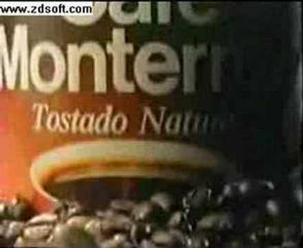 Comercial Café Monterrey - 1990