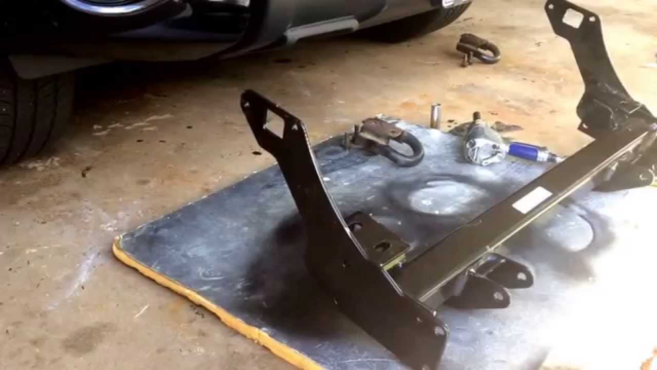 2010 Toyota Tundra Plow Mount Push Plate Install Fisher