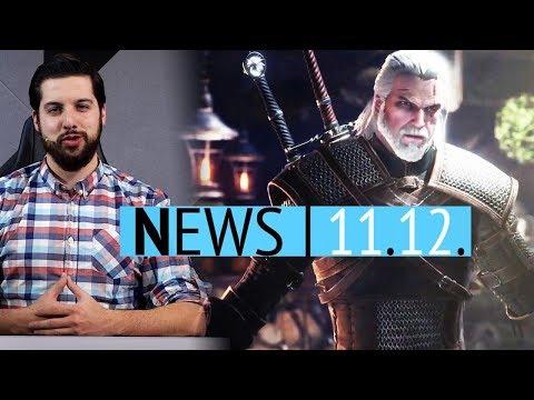 Witcher spielbar in Monster Hunter World - Neues Gameplay aus BGE2 - News thumbnail