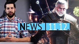 Witcher spielbar in Monster Hunter World - Neues Gameplay aus BGE2 - News
