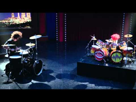 Dave Grohl and Animal Drum Battle - The Muppets