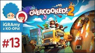 Overcooked 2 PL #13 | JAJCEM W RYJ! Laminarium!