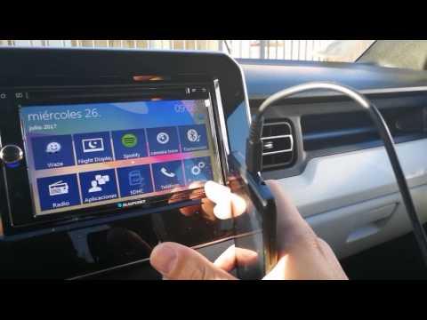 Suzuki Ignis 2017 Radio Blaupunkt 940 CapeTown agregar dispositivos Bluetooth