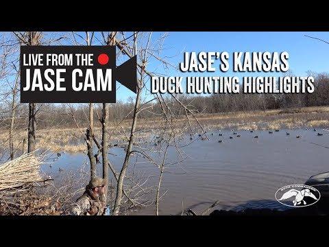 Jase Robertson's Duck Hunting Hightlights in Kansas