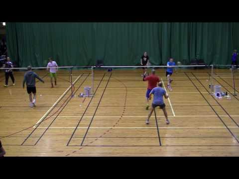 Helsinki Open 2016 - Badminton Match 2 MDC (w/ commentary)