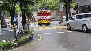 경기도 오산시 오산소방서 원동 119 안전센터 펌프차량…