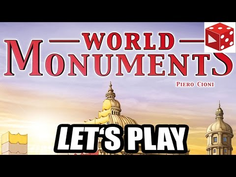 World Monuments - Let's Play & Rezension - Queen Games