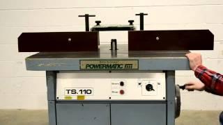 TS-110 Powermatic Shaper, 7.5HP