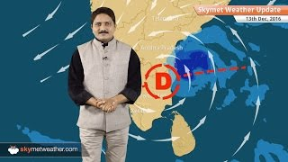 Weather Forecast for Dec 13: Chennai rains to intensify as Cyclone Vardah makes landfall