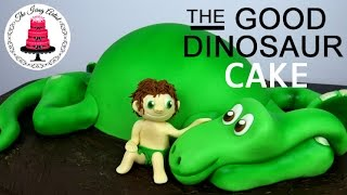 كيفية جعل الديناصور جيد الكعكة! طريقة سهلة!