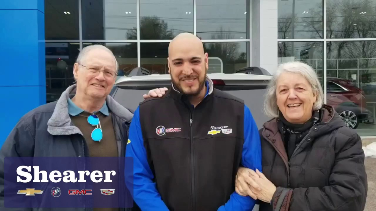 Happy Customers Rich Wendy At Shearer Chevrolet Buick Gmc Cadillac